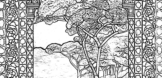 - Tiffany Coloring Pages Georgia Museum Of Art At The University Of Georgia  - Georgia Museum Of Art At The University Of Georgia
